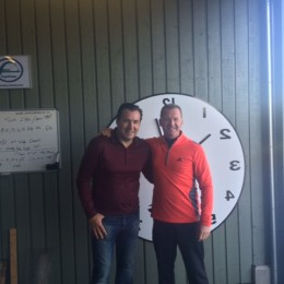 Fitting met Marc Wilmots.