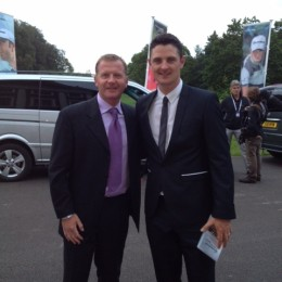 TMAG Staff Event met Justin Rose