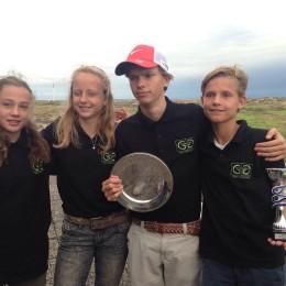 Groendael jeugd wint mini regionale competitie.