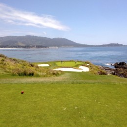 Pebble Beach hole 7.